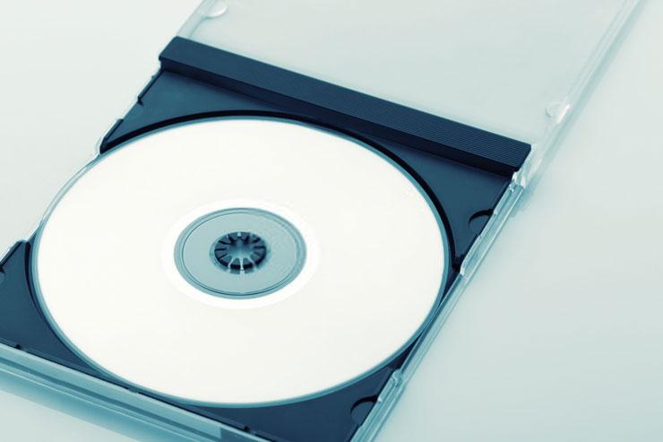 CD plástico