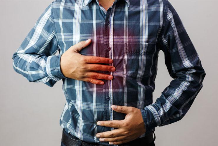 De estomacal problemas acidez